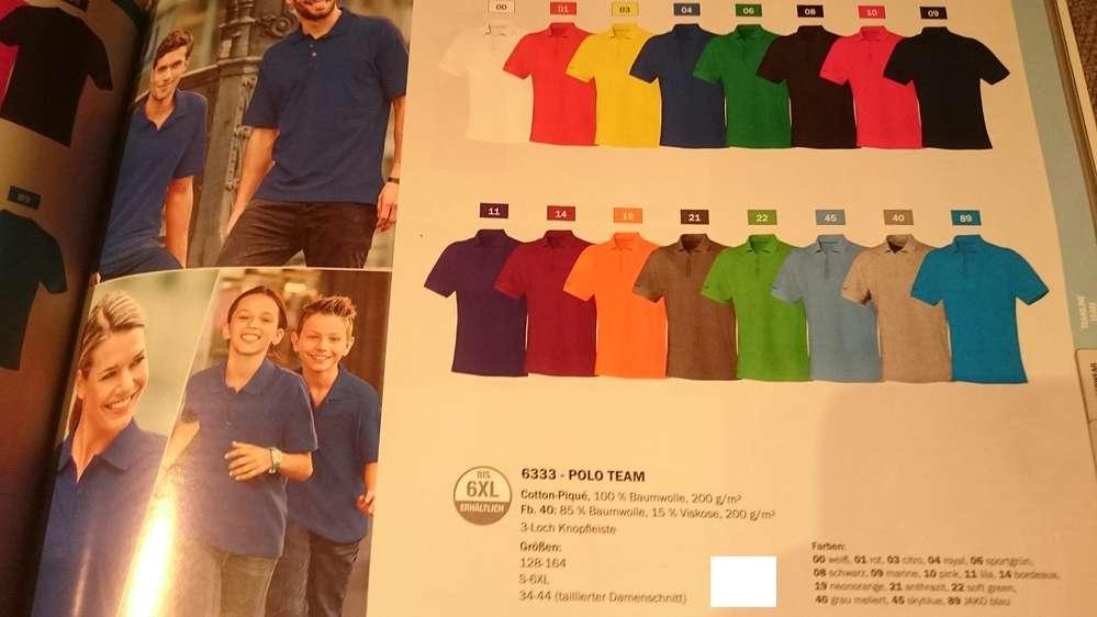f5a74ba052e756 Jako Polo-Shirt Team Herren oder Damen 10er Set Mannschaft oder Betrieb NEU